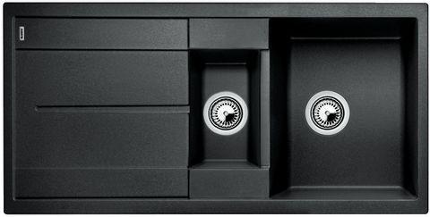 BLANCO METRA 6 S Antracit UX Hö, Underlimmad i laminat/corestone/kompaktlaminat