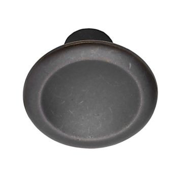 Bell antikbrun knopp