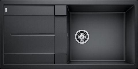 BLANCO METRA XL 6 S Antracit UX Hö, Underlimmad i trä