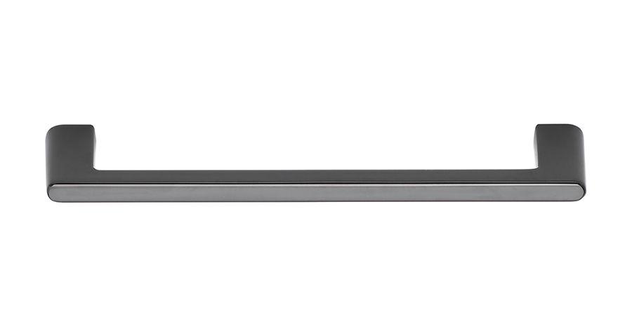 Diner svart halvblank c/c 160 mm