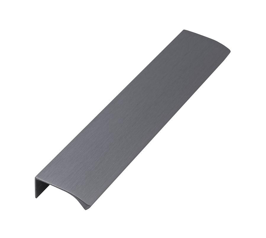 Edge straight borstad antracit längd 200mm