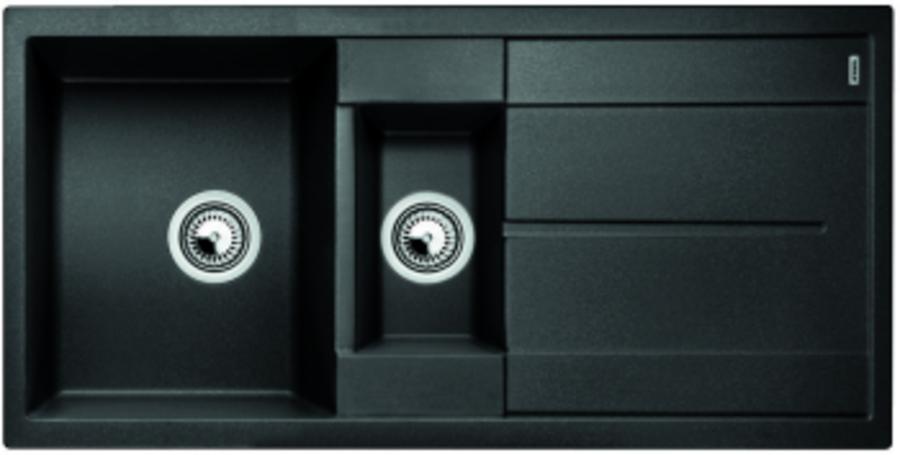 BLANCO METRA 6 S Antracit UX Vä, Underlimmad i trä
