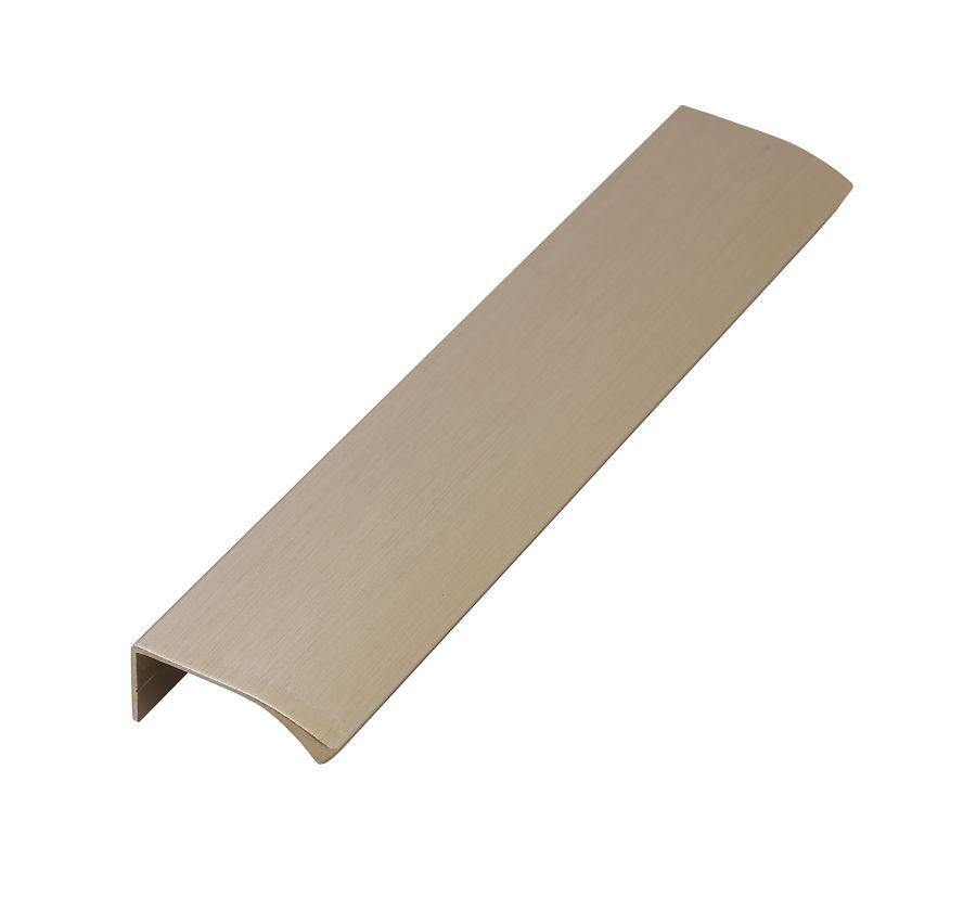 Edge straight borstad mässing längd 200mm