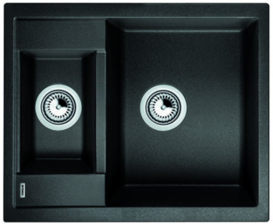 BLANCO METRA 6 Antracit UX Hö, Underlimmad i laminat/corestone/kompaktlaminat