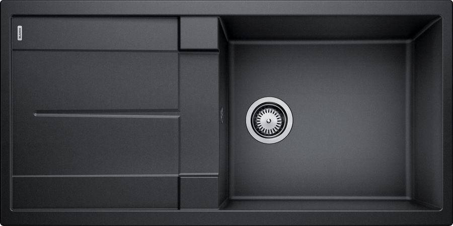 BLANCO METRA XL 6 S Antracit UX Hö, Underlimmad i laminat/corestone/kompaktlaminat