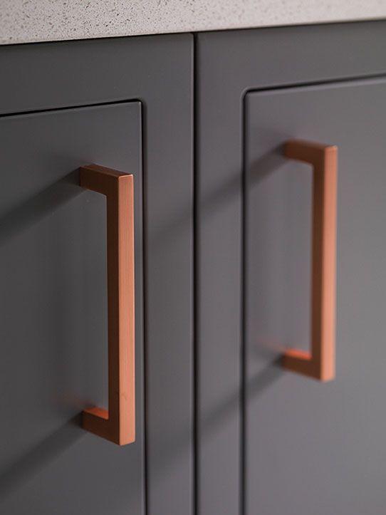 Cabinet Handles Magnet, Copper Coloured Kitchen Cabinet Handles
