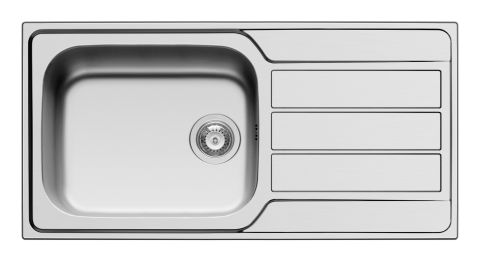 Athena 1.0 Bowl Stainless Steel Sink
