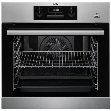 AEG BEK351010M BUILT-IN ELECTRIC SINGLE OVEN