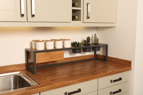 Shelf Plus Double Worktop Frame