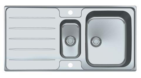 FRANKE Laser LSX651 1.5 Bowl Sink