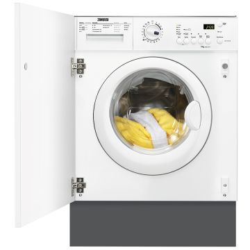 Zanussi Integrated Washing Machine Z712W43BI 7kg