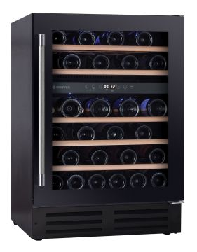 Under Counter Dual Zone Wine Cooler HWCB60DUKSSM