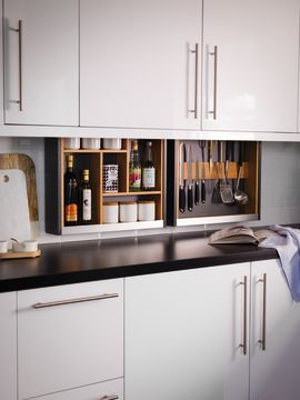 Cabinet Plus Wine & Storage Frame