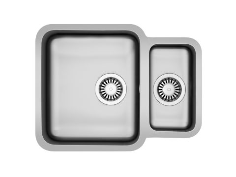Carron Zeta 1.5 Bowl Reversible Sink