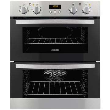 ZANUSSI ZOF35661XK BUILT-UNDER DOUBLE OVEN