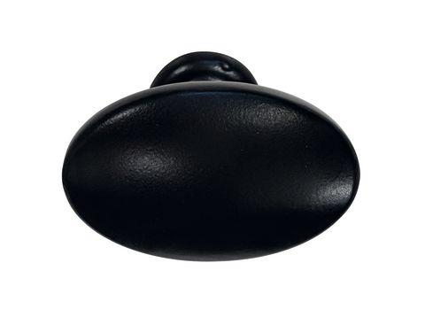 Traditional Matt Black Knob