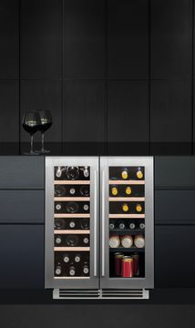 CAPLE Under Counter Dual Zone Wine Cooler WI6232