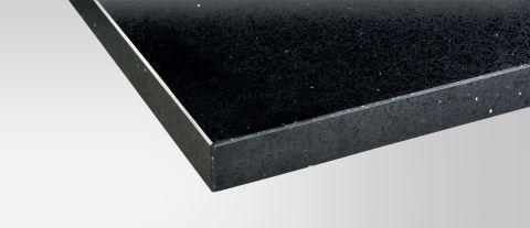 Maxtop Black Sparkle Worktop