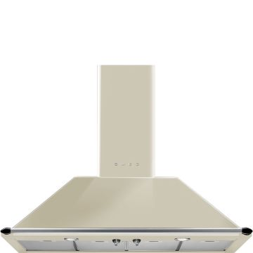 Smeg 110cm Cream Victorian Chimney Hood
