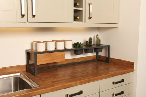 Shelf Plus Double Worktop Frame