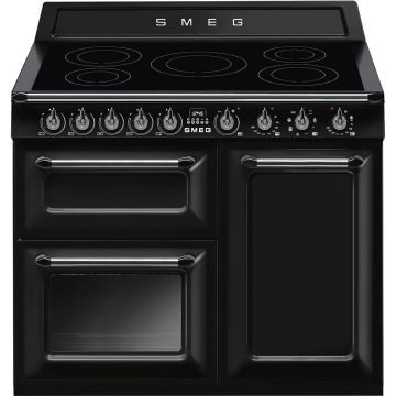 Smeg Victoria 100cm Black Induction Rangecooker