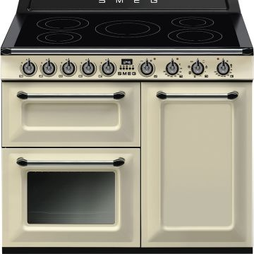 Smeg Victoria 100cm Cream Induction Rangecooker