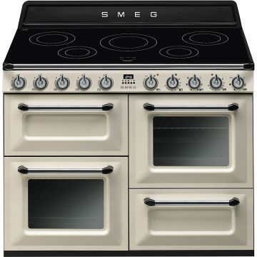Smeg Victoria 110cm Cream Induction Rangecooker