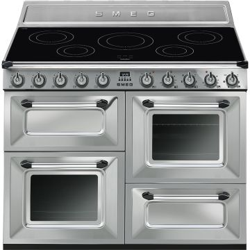 Smeg Victoria 110cm Stainless Steel Induction Rangecooker