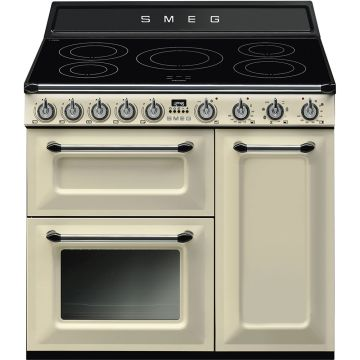 Smeg Victoria 90cm Cream Induction Rangecooker