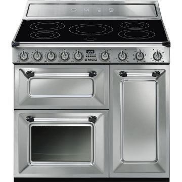 Smeg Victoria 90cm Stainless Steel Induction Rangecooker