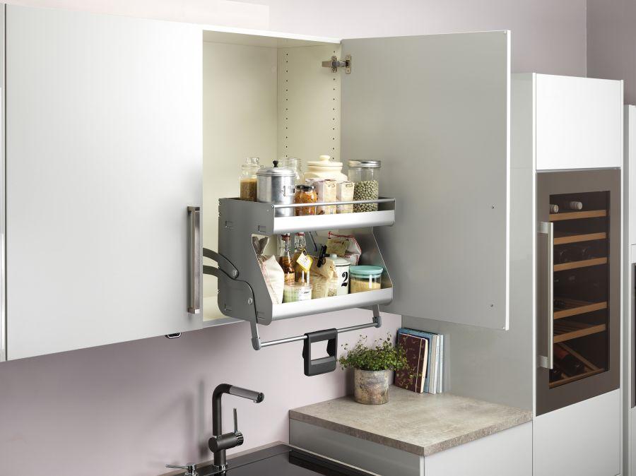 I-Move Pull Down Kitchen Shelves - Magnet