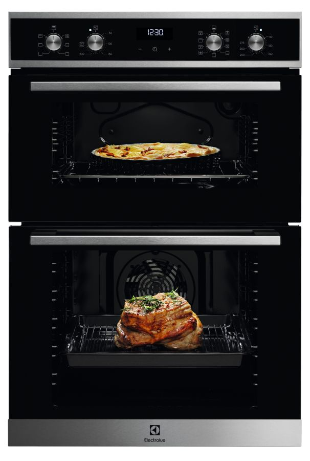 ELECTROLUX KDFEE40X BUILT IN DOUBLE OVEN