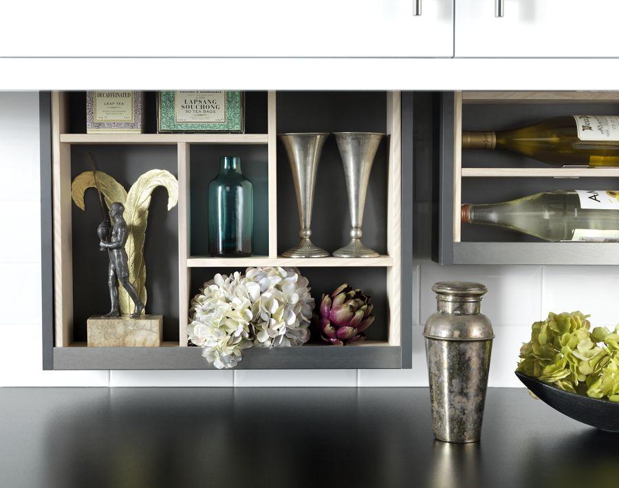 Cabinet Plus Asymmetric Storage Frame