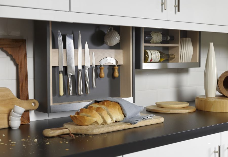 Cabinet Plus Knife & Utensil Frame