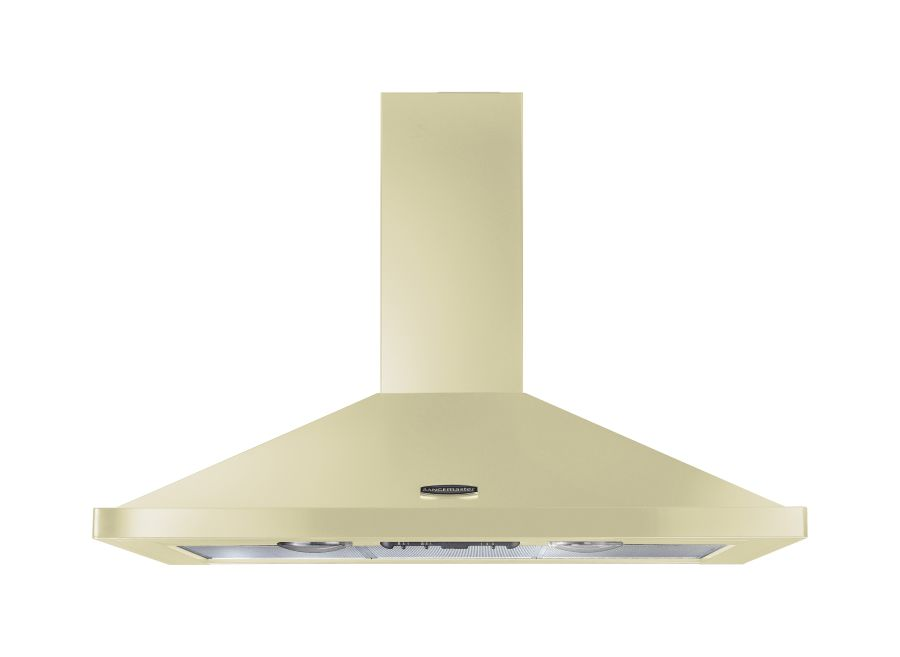 Rangemaster 110cm Chimney Hood Cream Chrome