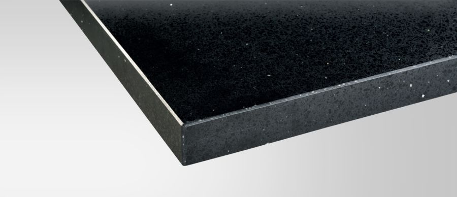 Maxtop Black Sparkle Worktop