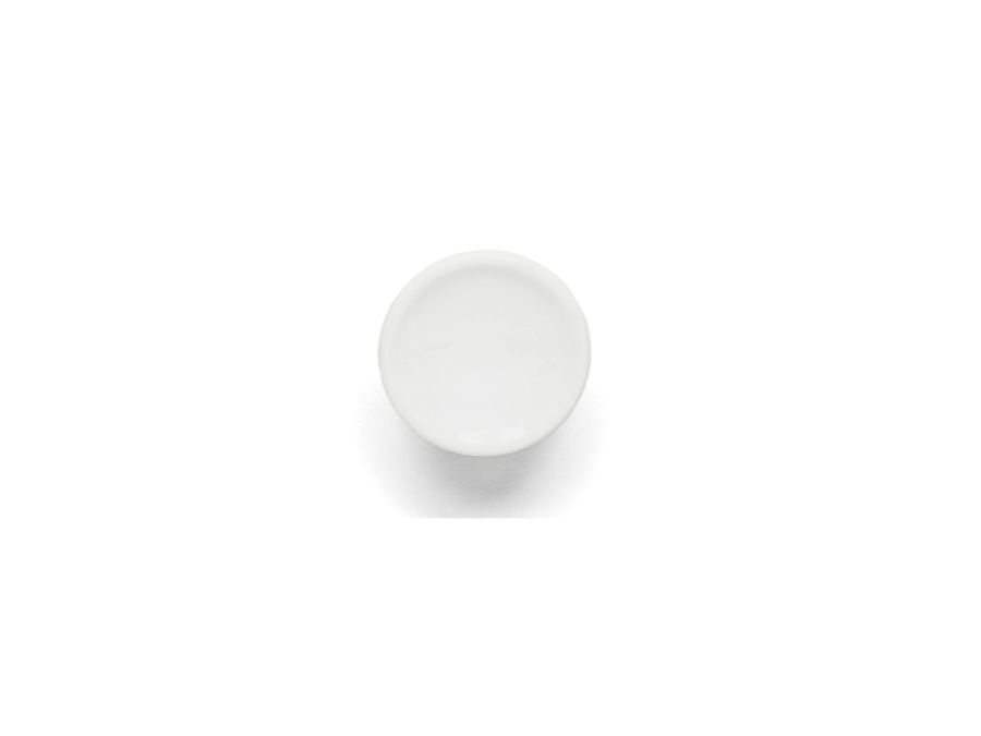 Plastknopp vit