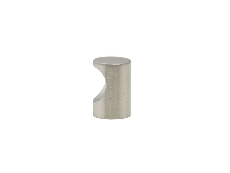 Cylinder rostfri knopp