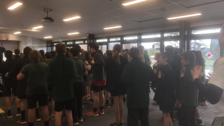 Photo of Allie   Maori Language Moment 2021