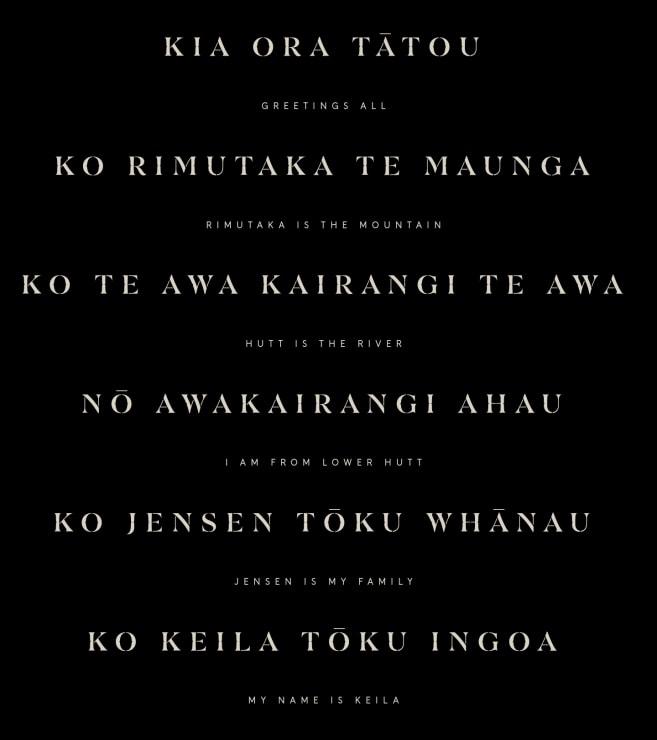 Photo of Keila | Maori Language Moment 2021