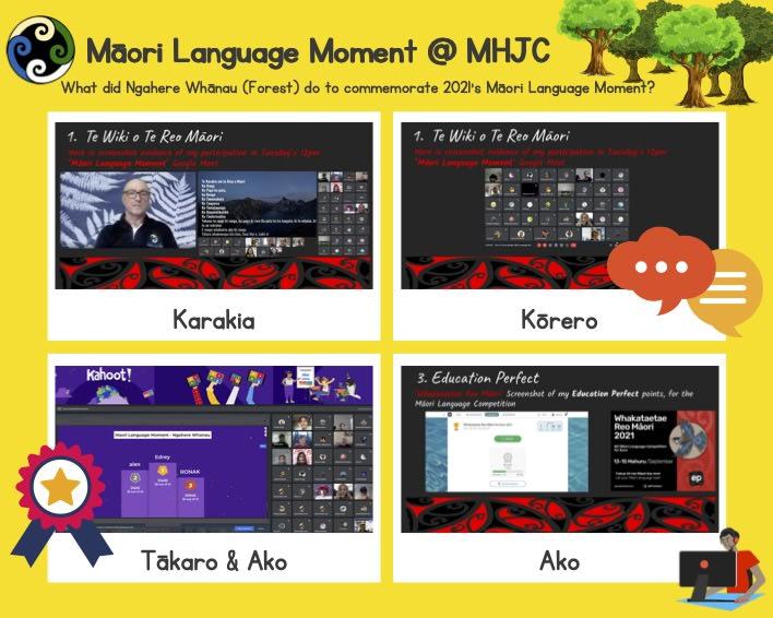 Photo of Melanie   Maori Language Moment 2021