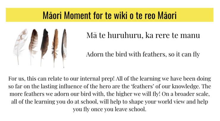 Photo of Kaitlyn   Maori Language Moment 2021