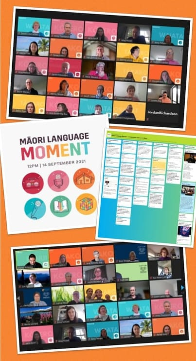 Photo of Charles   Maori Language Moment 2021