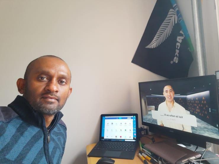 Photo of Naresh   Maori Language Moment 2021