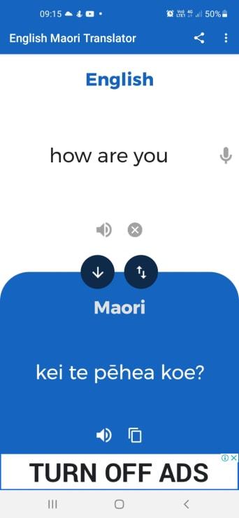Photo of Angela   Maori Language Moment 2021
