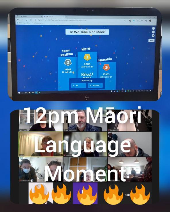 Photo of Tate   Maori Language Moment 2021