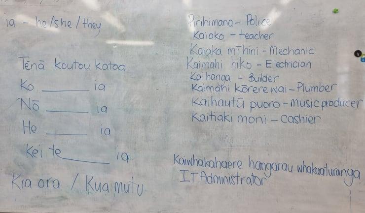 Photo of Jo   Maori Language Moment 2021