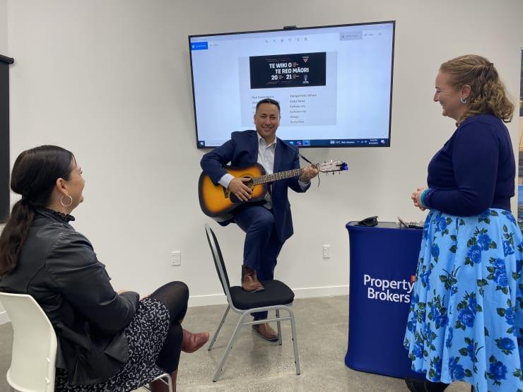 Photo of Kerry   Maori Language Moment 2021