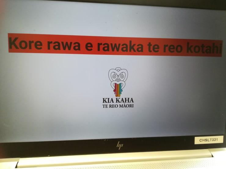 Photo of Debbie   Maori Language Moment 2021