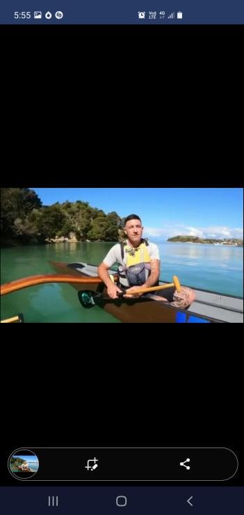 Photo of Callum   Maori Language Moment 2021
